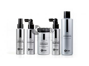 Kmax Stimulating Linie: die besten Anti-Haarausfall- und stimulierenden Produkte